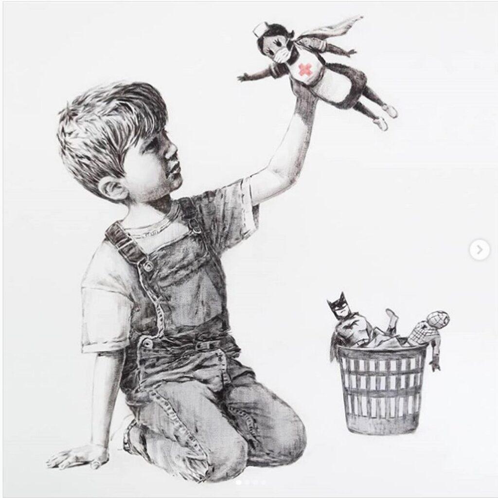 """Game Changer"" - Banksy"